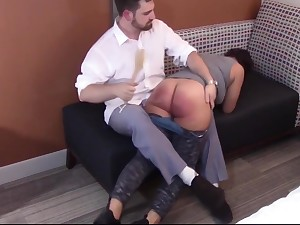 Spanking hammer away Disobedience At large of Mackenzie Reed