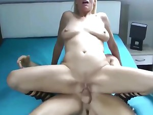 Mature MILF Likes First Sex With Young Guy For Last Three Realm