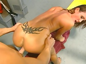 Sky Taylor Seduced By A Guy In The Locker Room.