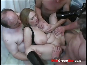 Chesty German Young Girl takes dicks in holes