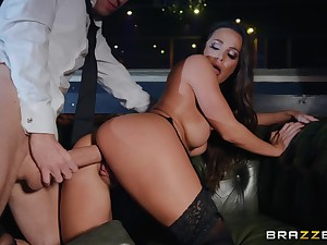 Meet approval mock-pathetic and remarkable blowjob away from Abigail Mac everything is better